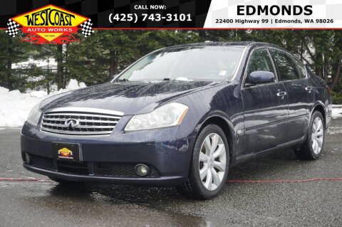 2006 Infiniti M35 for sale at West Coast Auto Works in Edmonds WA