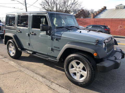2014 Jeep Wrangler Unlimited for sale at Deleon Mich Auto Sales in Yonkers NY