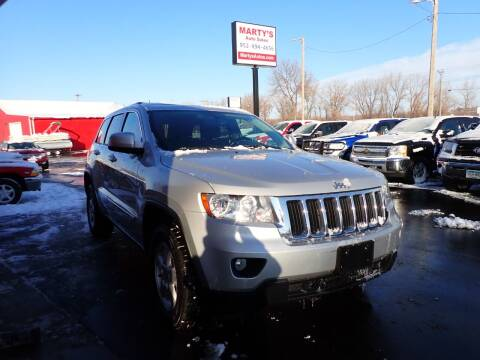 2013 Jeep Grand Cherokee for sale at Marty's Auto Sales in Savage MN
