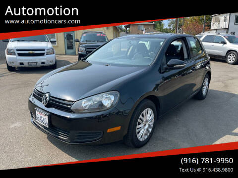 2011 Volkswagen Golf for sale at Automotion in Roseville CA