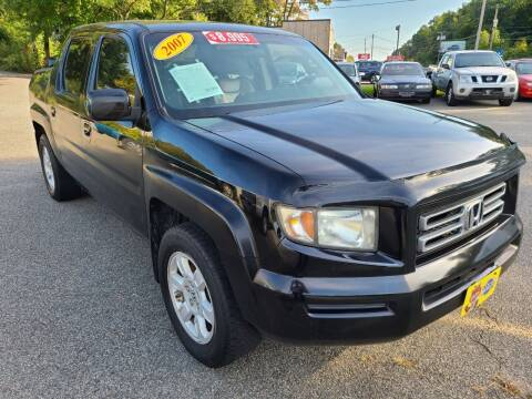 2007 Honda Ridgeline for sale at New Jersey Automobiles and Trucks in Lake Hopatcong NJ