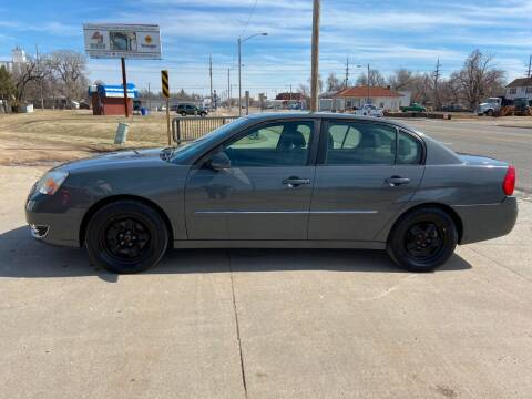 2007 Chevrolet Malibu for sale at Koehn's Auto Sales and OK Car Rentals in Mcpherson KS
