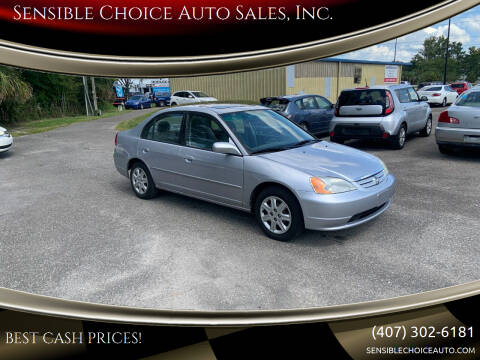 2003 Honda Civic for sale at Sensible Choice Auto Sales, Inc. in Longwood FL