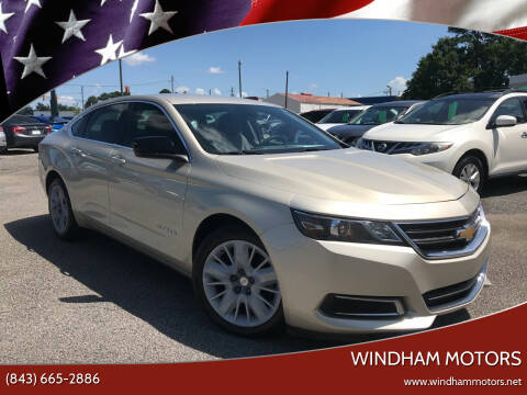 2014 Chevrolet Impala for sale at Windham Motors in Florence SC