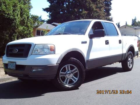 2004 Ford F-150 for sale at Redline Auto Sales in Vancouver WA