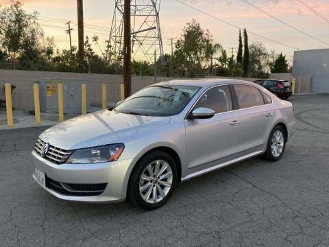 2012 Volkswagen Passat for sale at Hunter's Auto Inc in North Hollywood CA