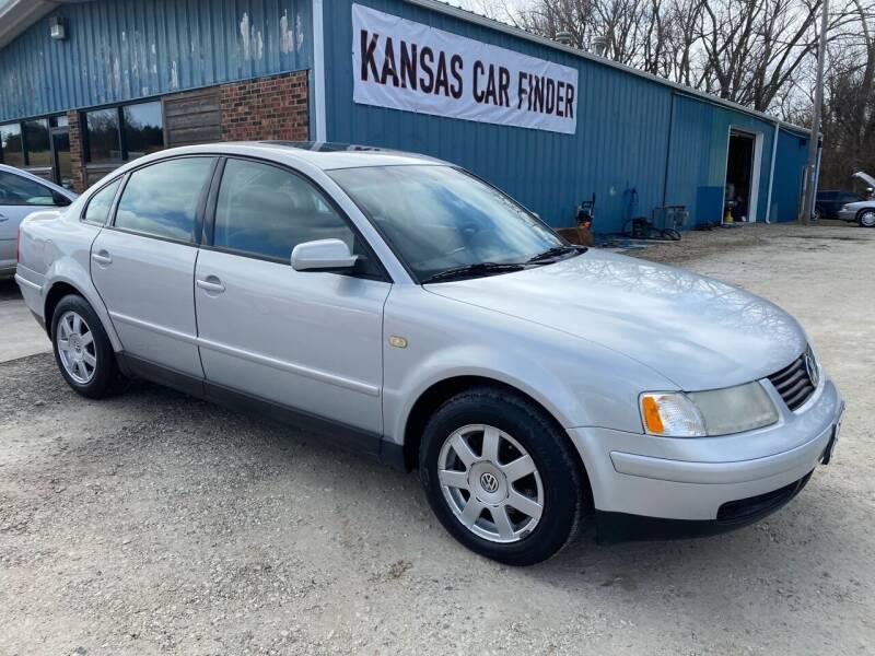 1999 Volkswagen Passat for sale at Kansas Car Finder in Valley Falls KS