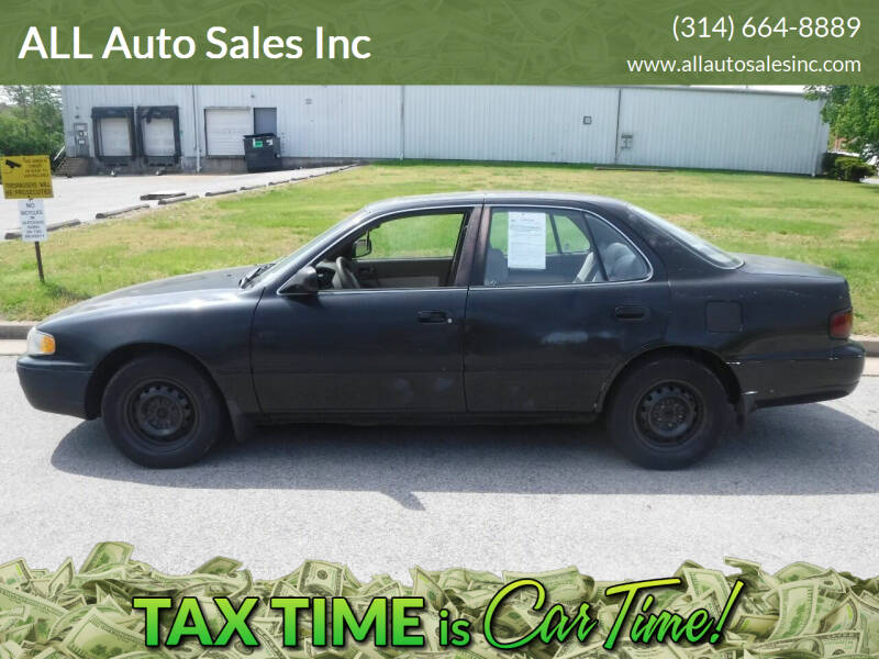 1996 Toyota Camry for sale at ALL Auto Sales Inc in Saint Louis MO