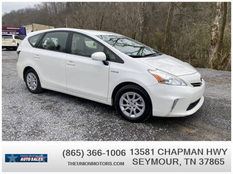 2013 Toyota Prius v for sale at Union Motors in Seymour TN