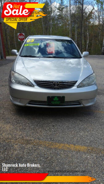 2005 Toyota Camry for sale at Shamrock Auto Brokers, LLC in Belmont NH