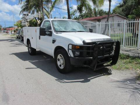 2008 Ford F-350 Super Duty for sale at TROPICAL MOTOR CARS INC in Miami FL