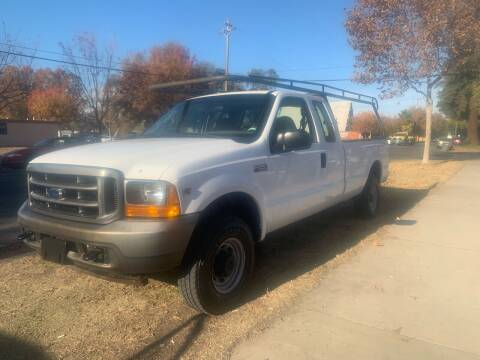 2001 Ford F-250 Super Duty for sale at River City Auto Sales Inc in West Sacramento CA