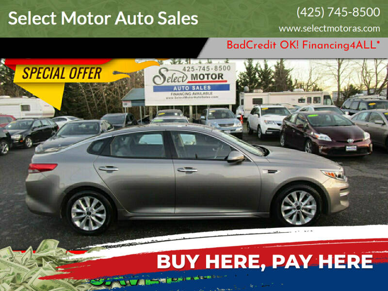 2016 Kia Optima for sale at Select Motor Auto Sales in Lynnwood WA