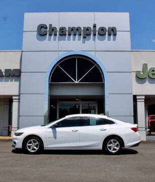 2017 Chevrolet Malibu for sale at Champion Chevrolet in Athens AL