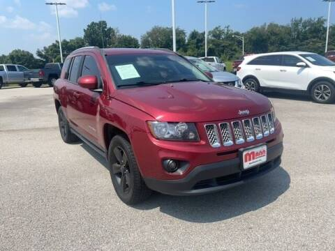 2016 Jeep Compass for sale at Mann Chrysler Dodge Jeep of Richmond in Richmond KY