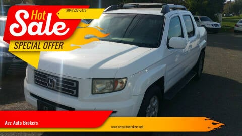 2006 Honda Ridgeline for sale at Ace Auto Brokers in Charlotte NC