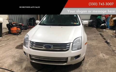 2009 Ford Fusion for sale at Six Brothers Auto Sales in Youngstown OH