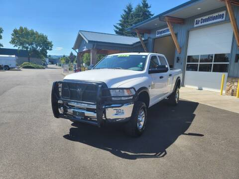 2016 RAM Ram Pickup 2500 for sale at Brookwood Auto Group in Forest Grove OR