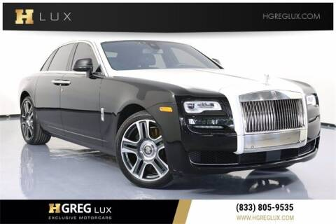 2017 Rolls-Royce Ghost for sale at HGREG LUX EXCLUSIVE MOTORCARS in Pompano Beach FL