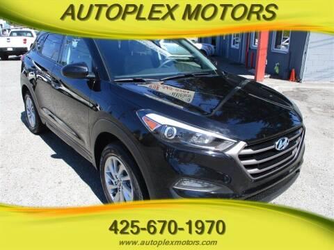 2016 Hyundai Tucson for sale at Autoplex Motors in Lynnwood WA
