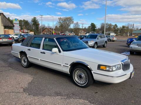 1997 Lincoln Town Car for sale at Certified Auto Center Inc in Wausau WI