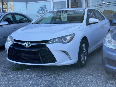2016 Toyota Camry for sale at My Car Auto Sales in Lakewood NJ
