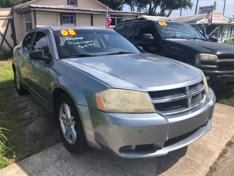 2008 Dodge Avenger for sale at Castagna Auto Sales LLC in Saint Augustine FL