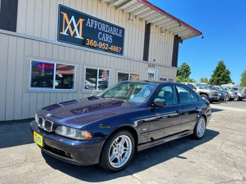 2001 BMW 5 Series for sale at M & A Affordable Cars in Vancouver WA