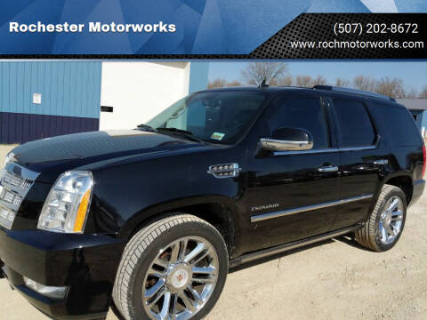 2012 Cadillac Escalade for sale at Rochester Motorworks in Rochester MN