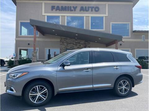 2017 Infiniti QX60 for sale at Moses Lake Family Auto Center in Moses Lake WA