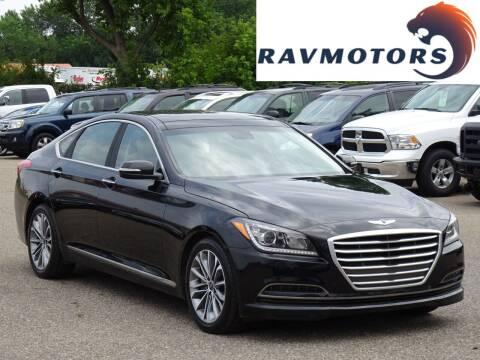 2015 Hyundai Genesis for sale at RAVMOTORS in Burnsville MN