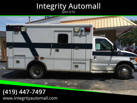2003 Ford E-Series Chassis for sale at Integrity Automall in Tiffin OH