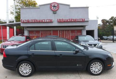 2012 Ford Fusion Hybrid for sale at Eazy Auto Finance in Dallas TX