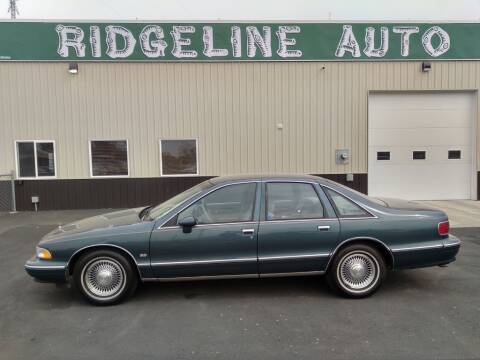 1994 Chevrolet Caprice for sale at RIDGELINE AUTO in Chubbuck ID