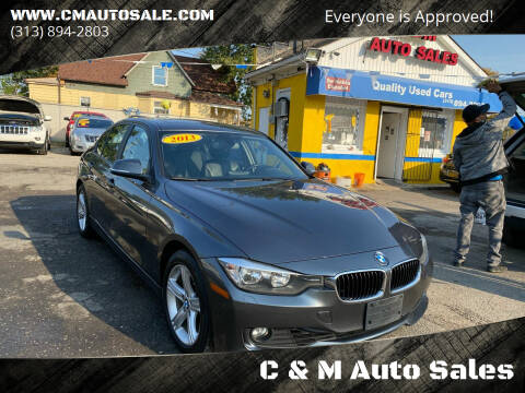 2013 BMW 3 Series for sale at C & M Auto Sales in Detroit MI
