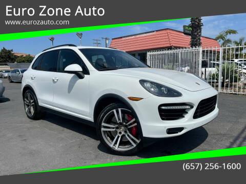 2013 Porsche Cayenne for sale at Euro Zone Auto in Stanton CA