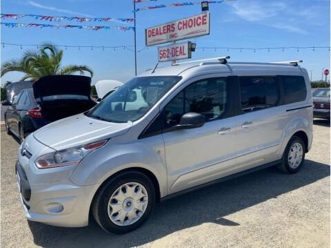 2017 Ford Transit Connect Wagon for sale at Dealers Choice Inc in Farmersville CA