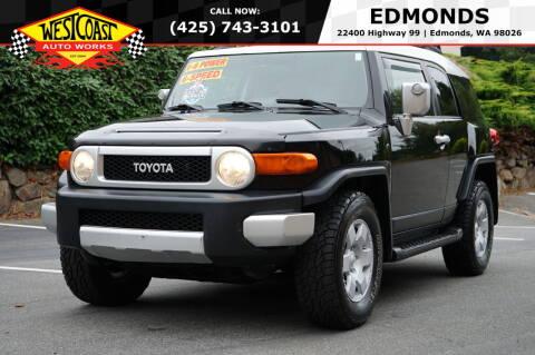 2007 Toyota FJ Cruiser for sale at West Coast Auto Works in Edmonds WA