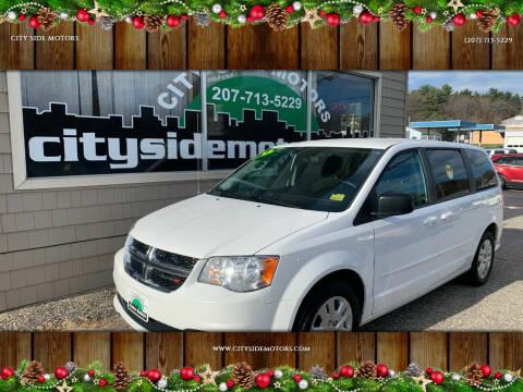 2015 Dodge Grand Caravan for sale at CITY SIDE MOTORS in Auburn ME