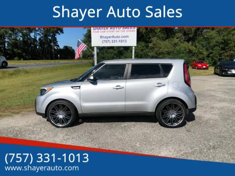 2015 Kia Soul for sale at Shayer Auto Sales in Cape Charles VA