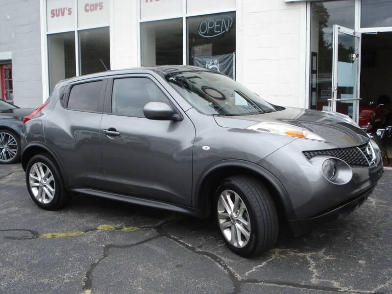 2012 Nissan JUKE for sale at Colonial Auto of Worcester Inc in Worcester MA