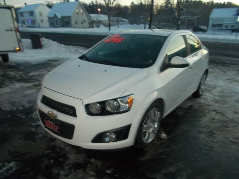 2014 Chevrolet Sonic for sale at Dansville Radiator in Dansville NY