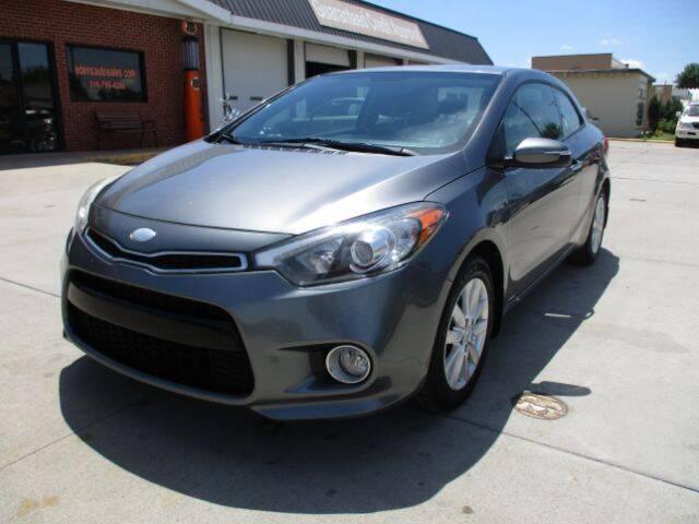 2014 Kia Forte Koup for sale at Eden's Auto Sales in Valley Center KS