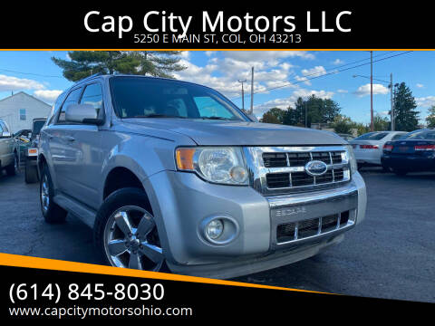2009 Ford Escape for sale at Cap City Motors LLC in Columbus OH