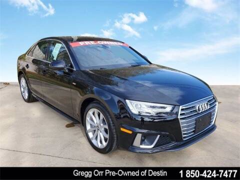 2019 Audi A4 for sale at Gregg Orr Pre-Owned of Destin in Destin FL
