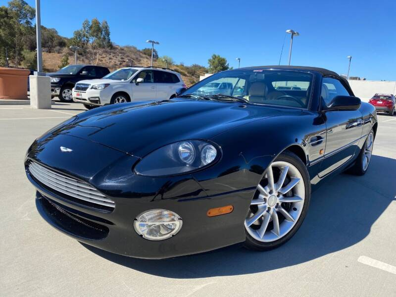2002 Aston Martin DB7 for sale at Allen Motors, Inc. in Thousand Oaks CA