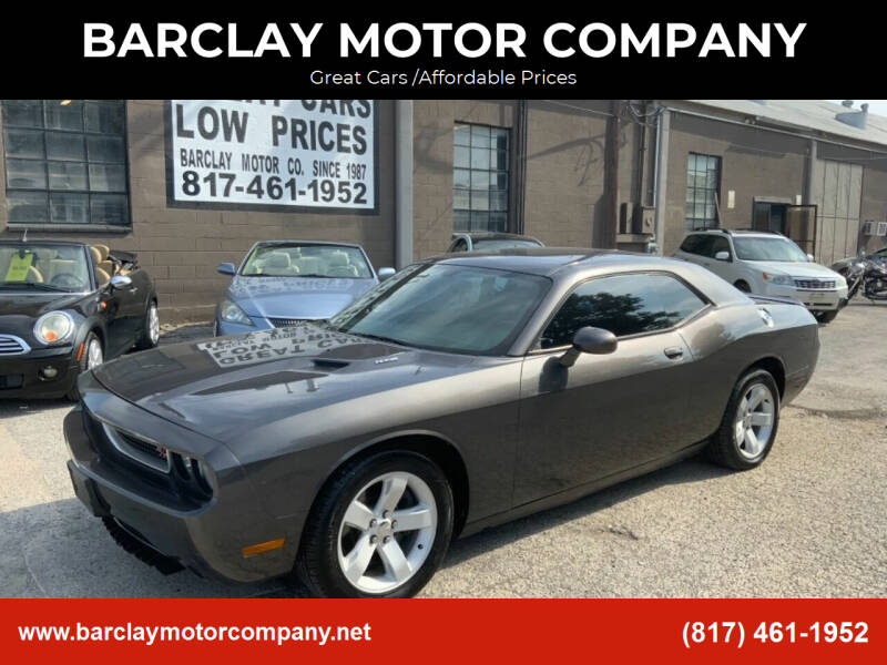 2013 Dodge Challenger for sale at BARCLAY MOTOR COMPANY in Arlington TX