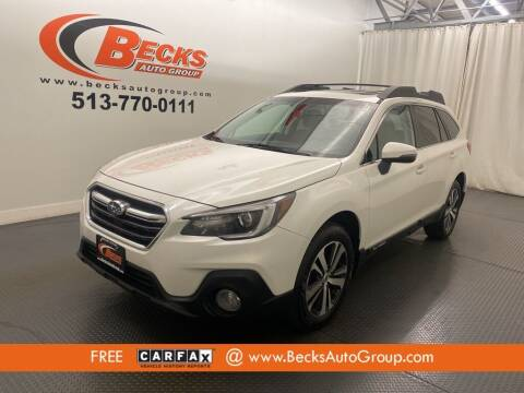 2018 Subaru Outback for sale at Becks Auto Group in Mason OH