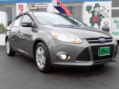2012 Ford Focus for sale at Village Motor Sales in Buffalo NY