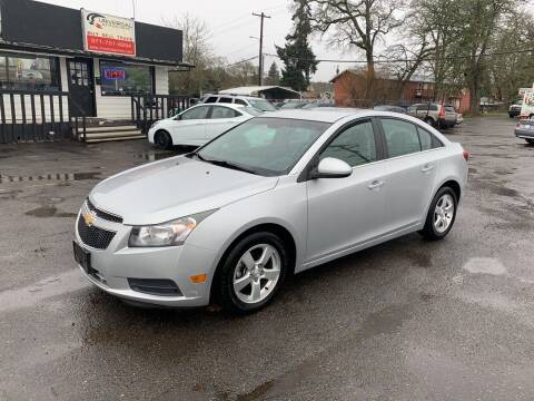 2012 Chevrolet Cruze for sale at Universal Auto Sales in Salem OR